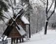 Iarna la Muzeul Satului din Bucuresti