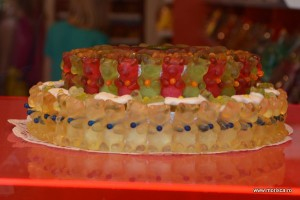 Tort din ursi jeleuri in Salzburg