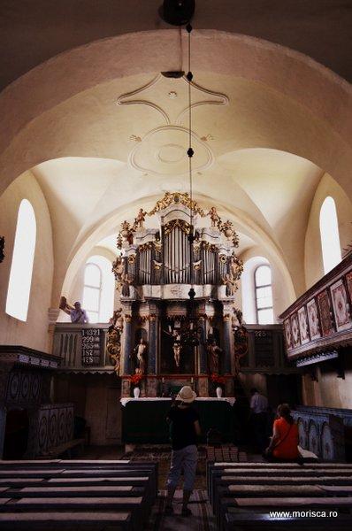 Biserica fortificata din Homorod, judetul Brasov