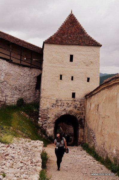 Cetatea Rasnov din judetul Brasov