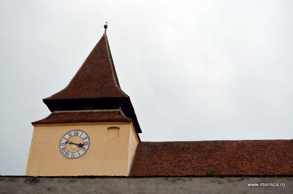 Biserica saseasca fortificata din Ghimbav, judetul Brasov