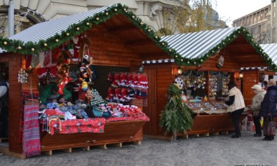 Bucharest Christmas Market - decembrie 2015 in Piata Universitatii