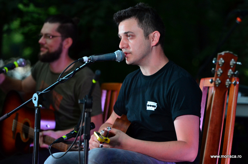 Concert Melting Dice in Gradina Casei Universitarilor din Bucuresti - Backyard Acoustic Season 2016