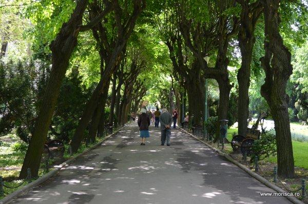 Primavara si vara in Gradina Cismigiu din Bucuresti