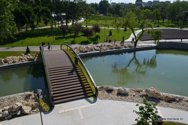 Parcul Moghioros - Dr Taberei din Bucuresti dupa redeschidere 2015