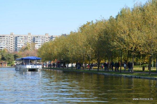 Toamna in Parcul Alexandru Ioan Cuza (IOR) din Bucuresti