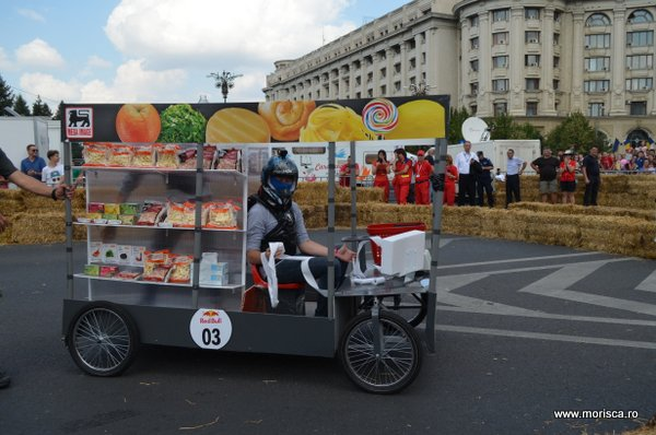 Prima competitie Red Bull Soap Box din Bucuresti 2014