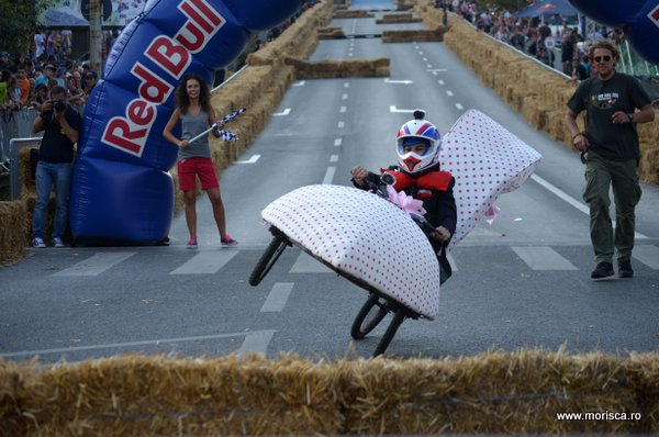 Prima competitie Red Bull Soap Box din Bucuresti 2014