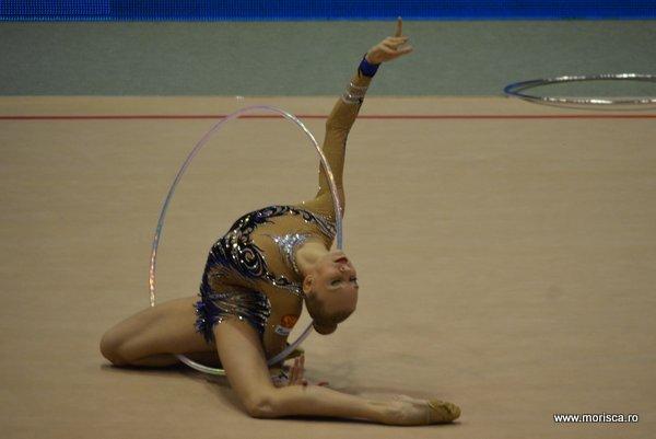 Gimnastica Ritmica la Sala Polivalenta din Bucuresti - proba de cerc - aprilie 2015