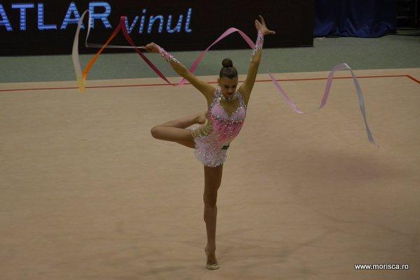 Gimnastica ritmica la Sala Polivalenta din Bucuresti - Cupa Irina Delenanu - aprilie 2015