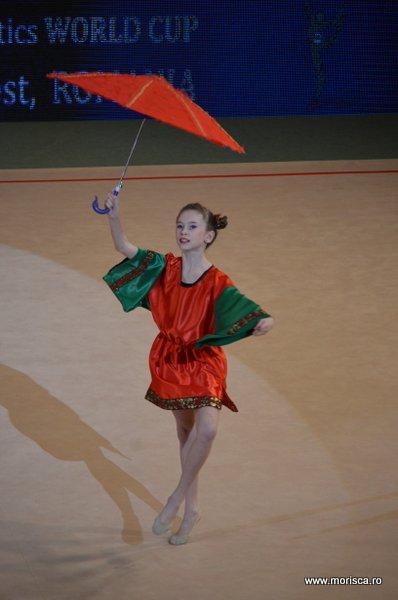 Gimnastica ritmica la Sala Polivalenta din Bucuresti - Cupa Irina Deleanu – gala demonstrativa - aprilie 2015