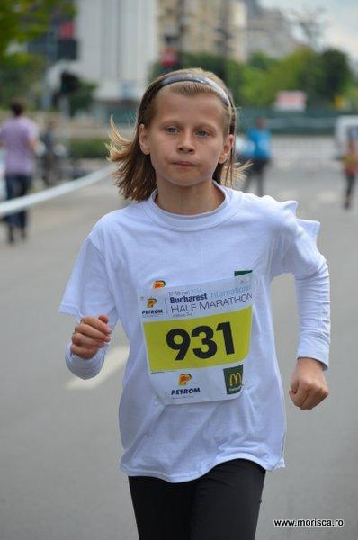 Copii la semi maratonul international Bucuresti