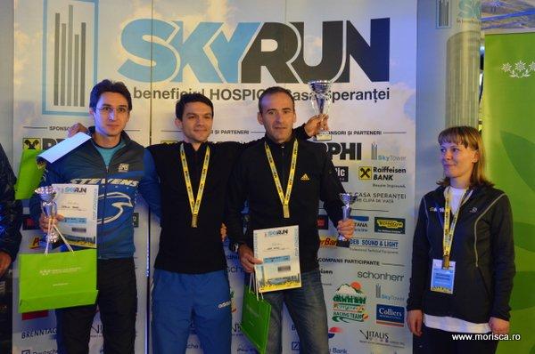 Sky Run in Sky Tower Bucuresti - editia octombrie 2014