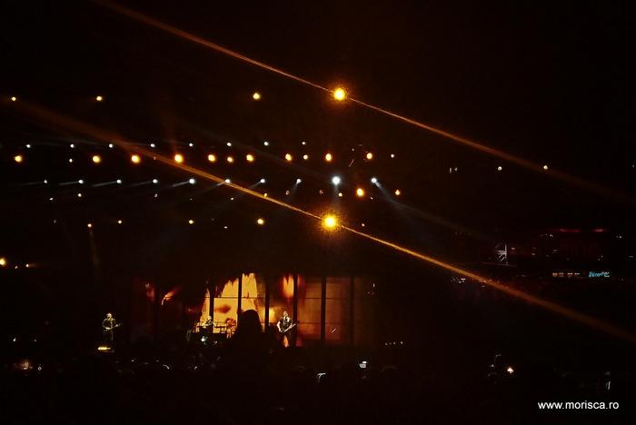Concert Muse in Piata Constitutiei din Bucuresti 29 iulie 2016