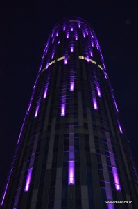 Panorama Bucuresti din cladirea Sky Tower