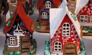 Decoratiuni si cumparaturi de Craciun din Praga, Cehia