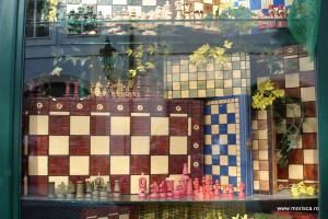 Magazin cu jucarii din lemn in Praga