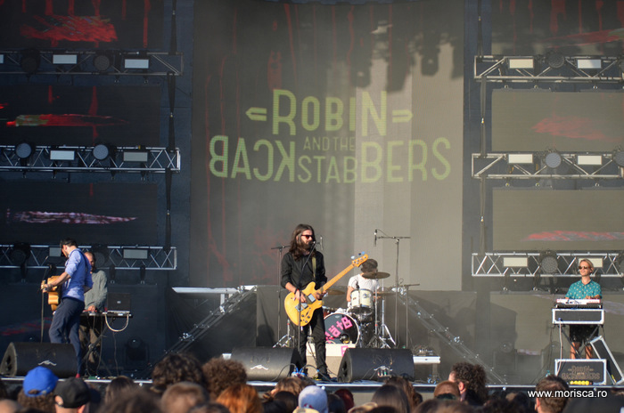 Concert Robin and the Backstabbers la Creative Fest 2016 - Bucuresti (Romexpo)