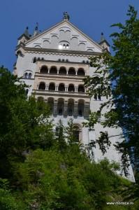 Castelul Schloss Neuschwanstein din Bavaria (Germania)