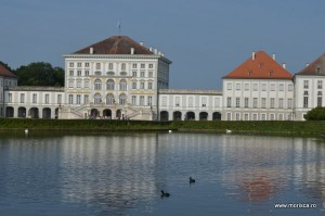 Palatul Schloss Nymphenburg din Munchen (Bavaria - Germania)