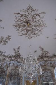 Pavilion la palatul Schloss Nymphenburg Munchen