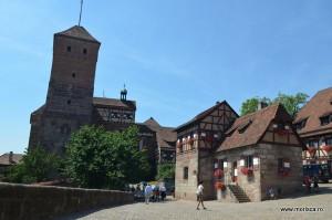 Castelul Imperial din Nuremberg (Bavaria - Germania)