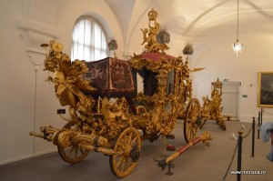 Muzeul calestilor si saniilor la Palatul Schloss Nymphenburg din Munchen