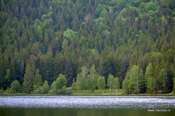 Lacul Sf Ana Masivul Ciomatu