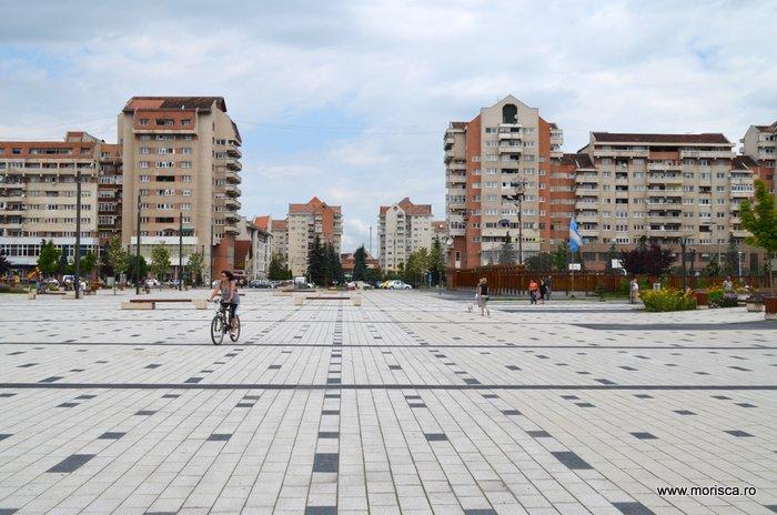 Centrul orasului Miercurea Ciuc