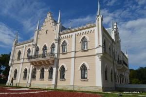 Palatul Cuza Ruginoasa judetul Iasi