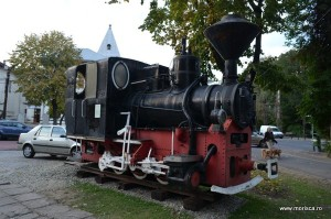 Locomotiva istorica in Bucuresti Romania