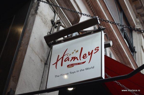 Magazinul de jucarii Hamleys Londra