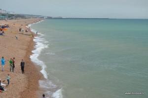 Weekend la plaja in  Brighton Marea Britanie