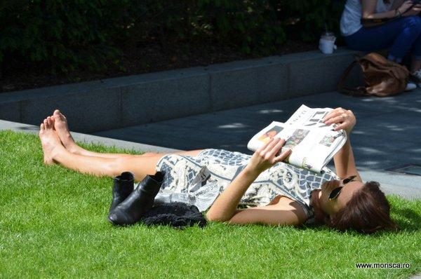 Citind in parc in Londra