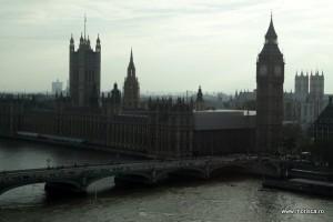 Londra panorama London Eye