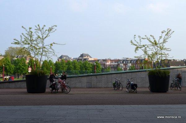 Primavara in Museumplein Amsterdam