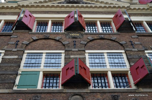 Casa in care a trait Rembrandt in Amsterdam - Rembrandthuis