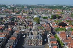 Panorama Delft Olanda