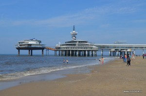 Plaja din Scheveningen (Haga) Olanda