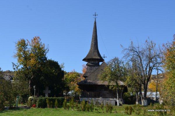 Biserica de lemn de la Manastirea Jercalai din judetul Prahova