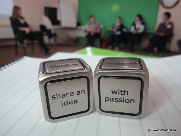 Share an idea with passion