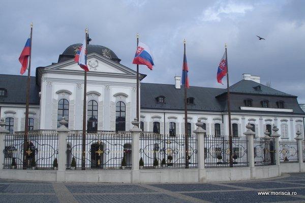 Grassalkovich - Palatul Prezidential din Bratislava