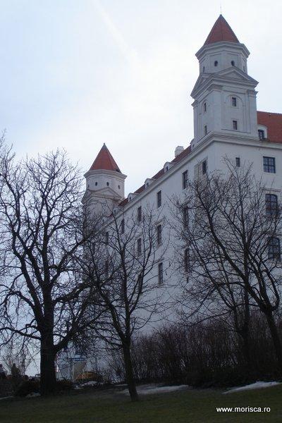Iarna in Bratislava, Slovacia
