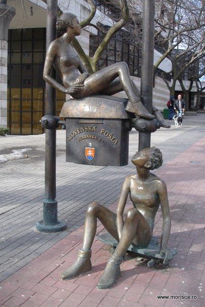 Statuie in Bratislava