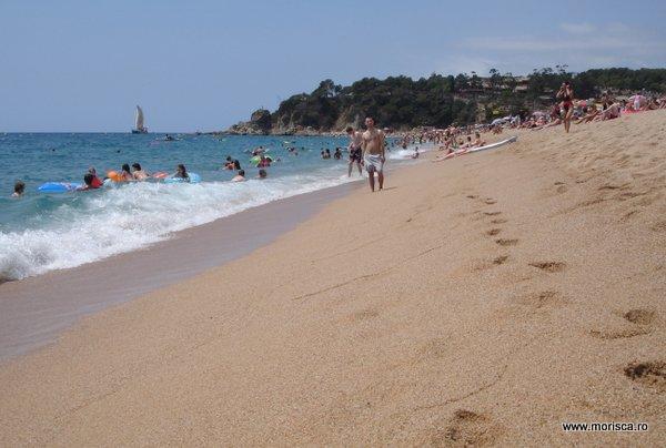 Plaja Lloret del Mar Spania