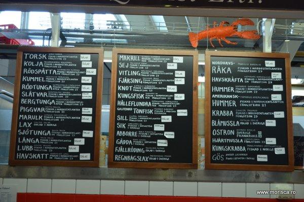 Feskekörka - Fish Market in Gotheburg, Suedia