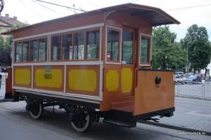 Primul tramvai tras cu cai din Romania Timisoara