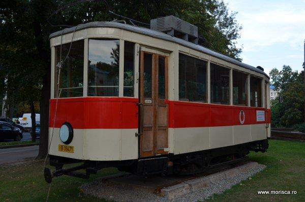 Tramvai istoric in Bucuresti Romania